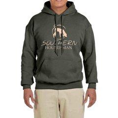 Southern Houndsman Military Green/Natural Hoodie