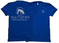 Southern Houndsman Grey Trailing Dog T-Shirt