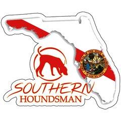 "8"" Florida Flag Southern Houndsman Logo Sticker"