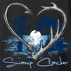Youth Swamp Heart Swamp Cracker T-Shirt