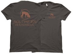 Southern Houndsman Brown Trailing Dog T-Shirt