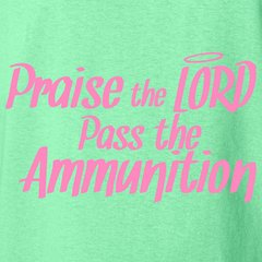 Pink Praise the Lord T-Shirt