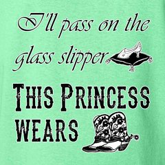 This Princess Wears Boots Southern Cowgirl T-Shirt