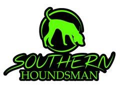 """12"""" x 8"""" Neon Green Southern Houndsman Logo Sticker"""