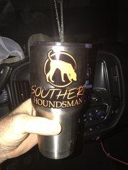 Southern Houndsman yeti tumbler Logo Sticker