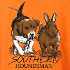 Youth Beagle Chasing Rabbit Southern Houndsman T-Shirt