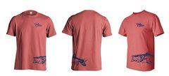 Salty Cracker Snook Wrap Around Saltwater Fishing T-Shirt