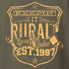 Keeping' It Rural Flesh color ink Southern Farmer T-Shirt