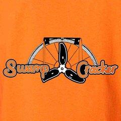 Airboat Swamp Cracker Logo T-shirt