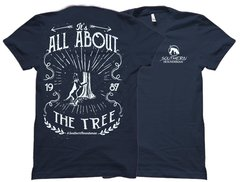 All About The Tree White Southern Houndsman T-Shirt