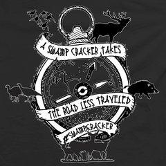 Swamp Cracker Road Less Traveled Hunting T-shirt