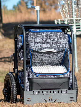 Dynamic Discs Lg Backpack Cart Smokin Aces Disc Golf St