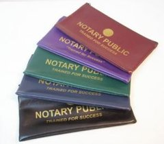 Zippered Notary Pouch