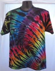 Dark Rainbow Spider Kids T-Shirt