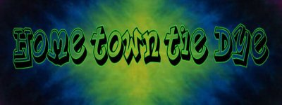 Home Town Tie Dye