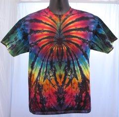 Rainbow and Black Spider Kids T-Shirt