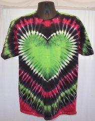 Giant Green Heart Kids T-Shirt
