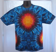 Fiery Vortex Adult T-Shirt