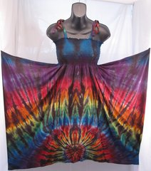 Rainbow Spider Festival Dress/Skirt