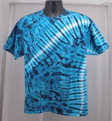 Blue Marble Wave Adult T-Shirt