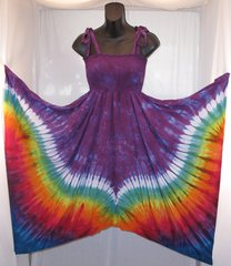 Purple Wings Festival Dress/Skirt