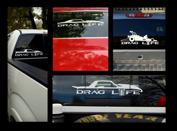 22 Quot Large Icons Series Drag Life Decals Drag Life