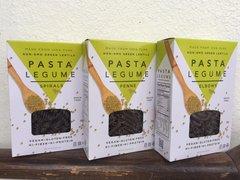 Pasta Legume 100% Whole Green Lentil Pasta, 8 oz box, 3 pack assortment