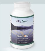E3Live + BrainOn Apple/Lemon Flavor 16oz 6 bottles