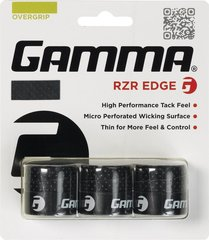 Gamma RZR Edge 3 Pack Overgrip