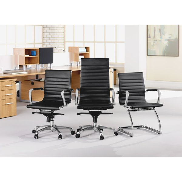 Contemporary Leather Chair OKC fice Furniture Eames