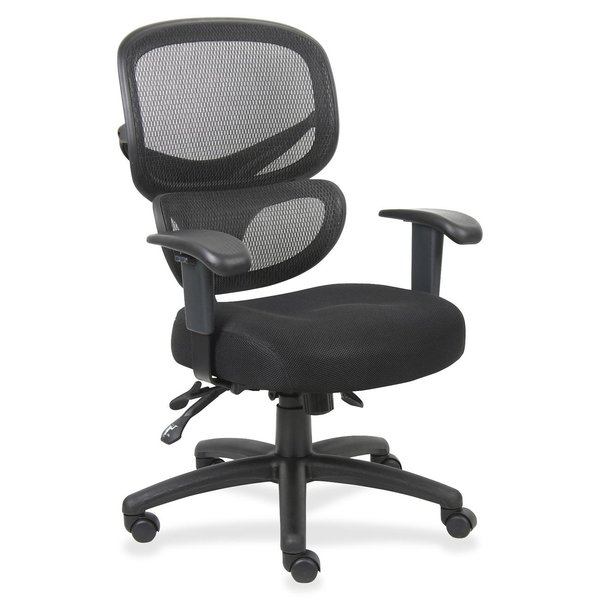 lorell mesh back chair with lumbar okc office furniture okc
