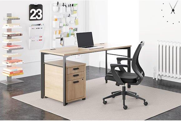 HON Basyx Series Desk Oklahoma City fice Furniture