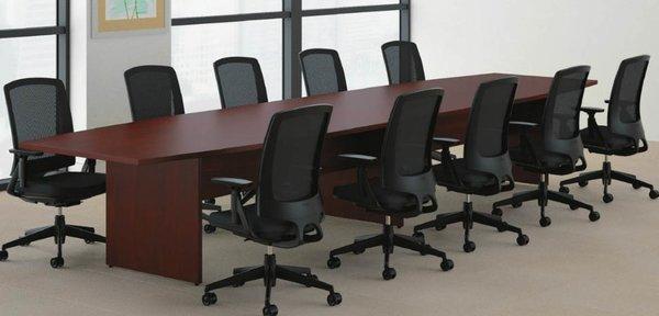 HON boat shaped conference tables Oklahoma City fice