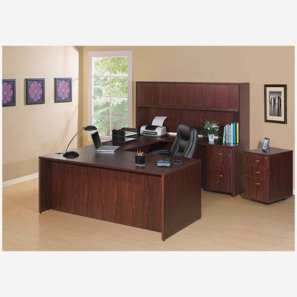 Lorell U Shaped Desk Oklahoma City Office Furniture Okc