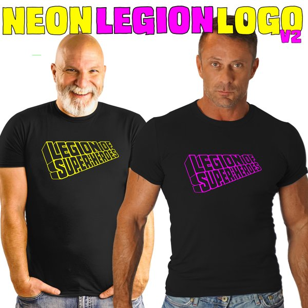 NEON LEGION Version 2 LOGO SHIRT