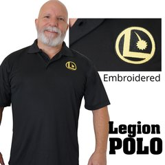 Legion Emboidered Cotton Polo Shirt