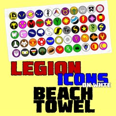 LEGION ICONS Beach Towel