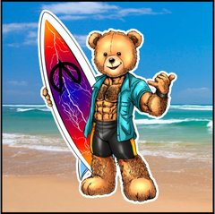 Surf Eddi Bear