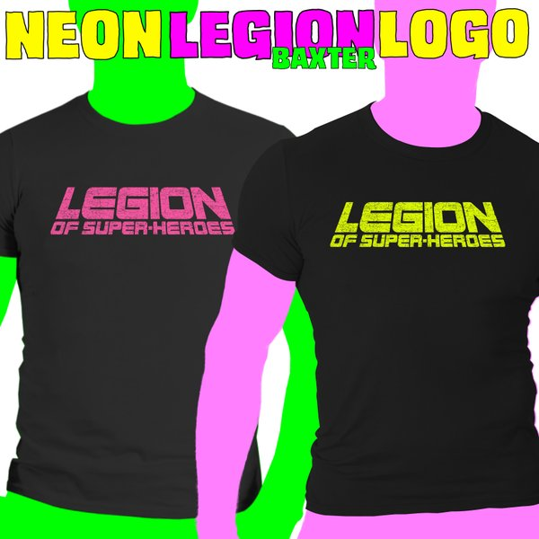 NEON LEGION BAXTER LOGO