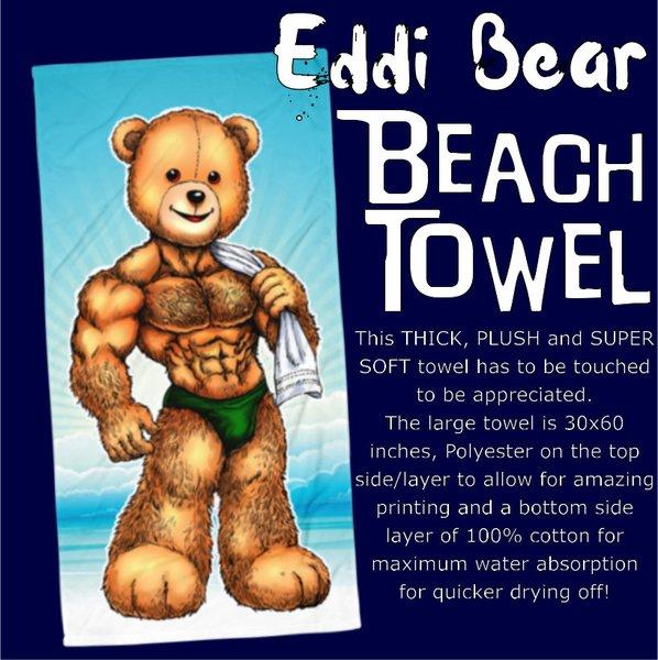 Eddi Bear Beach Towel