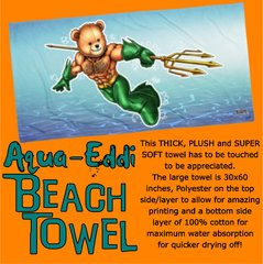 AQUA EDDI Beach Towel