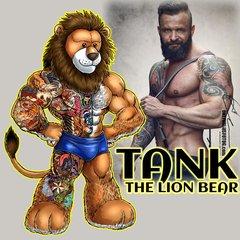 TANK THE LION BEAR