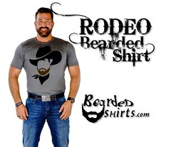 RODEO Cowboy Bearded Shirt