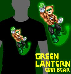 Green Lantern Eddi Bear Shirt