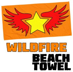 WILDFIRE BEACH TOWEL