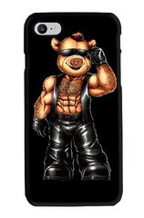 Piggi Bear in Leather Phone Case