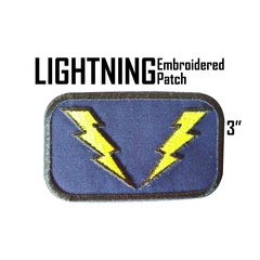 Lightning Lad Embroidered Patch