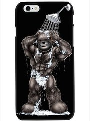 ANDRE BEAR in shower Phone Case