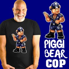 Piggi Bear Cop