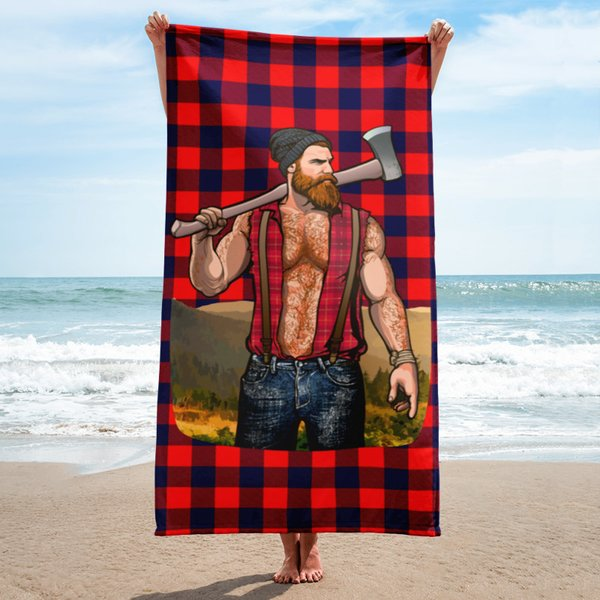 GINGER JACK Beach Towel